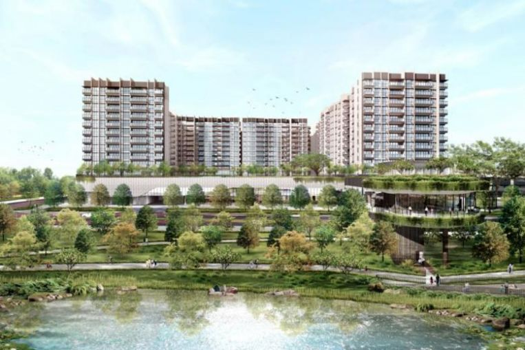 SPH, Kajima break ground on 680-unit The Woodleigh Residences at landm