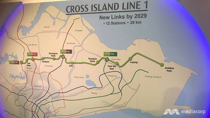 First phase of Cross Island Line to open by 2029 with 12 stations